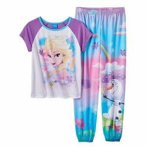 Disney Frozen Elsa and Olaf Pajama set size 6